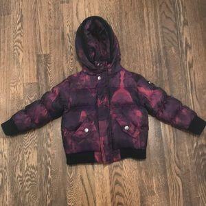 Appaman Girls Printed Down Filled Puffer Jacket 3T